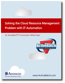 Solving the Cloud Resource Management Problem with IT Automation