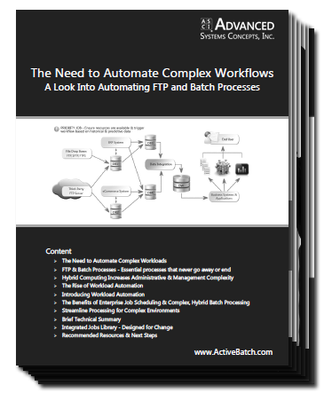 A Look Into Automating FTP and Batch Processes - White Paper