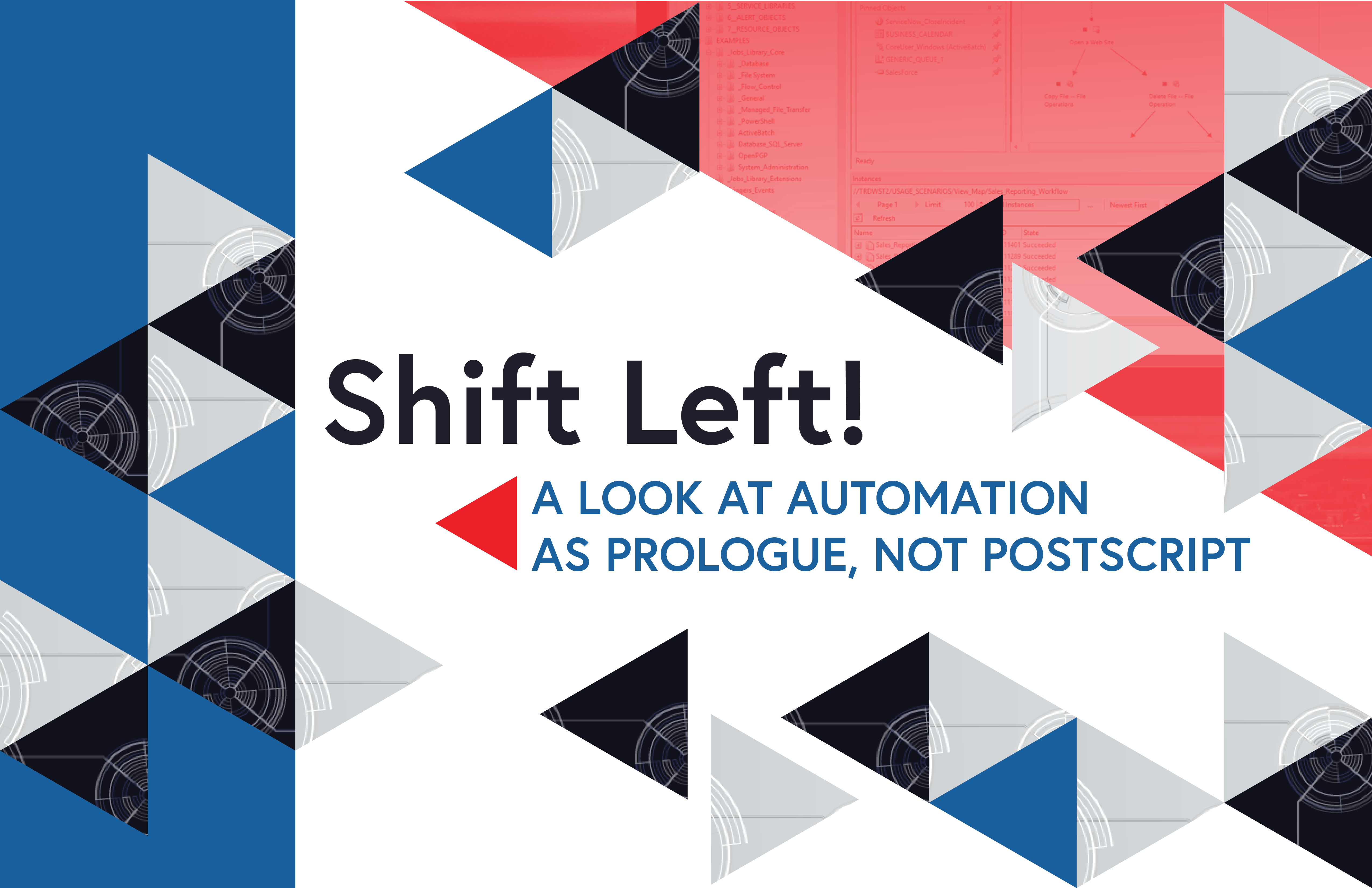 Shift Left! A Look at Automation as Prologue, Not Postscript