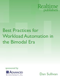 Best Practices for Workload Automation in the Gartner-Defined Bimodal Era
