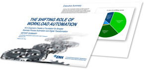 EMA Research Report: The Shifting Role of Workload Automation