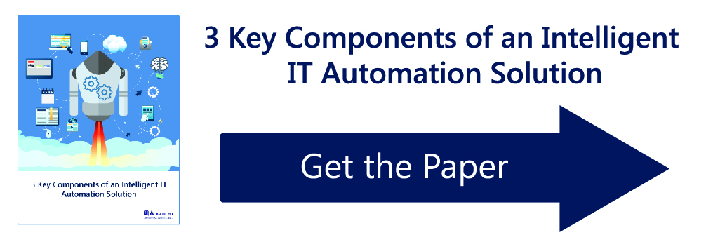 White Paper, 3 Key Components of an Intelligent IT Automation Solution for Job Scheduling and Workload Automation