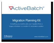 Legacy Scheduler Migration Planning Kit