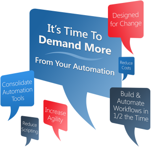 Demand More from your automation